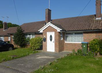 Thumbnail 2 bed terraced bungalow for sale in Lawrence Avenue, Rustington, Littlehampton