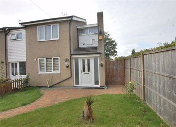 Thumbnail 2 bed end terrace house to rent in School Close, Stevenage, Herts