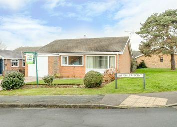 Thumbnail 3 bed detached bungalow for sale in Layton Crescent, Brampton, Huntingdon
