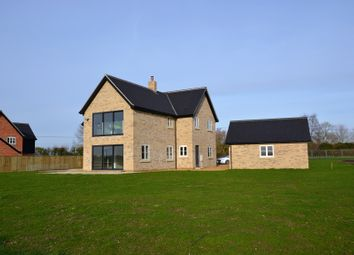 Thumbnail 4 bed detached house for sale in Wheelers Lane, Seething, Norwich