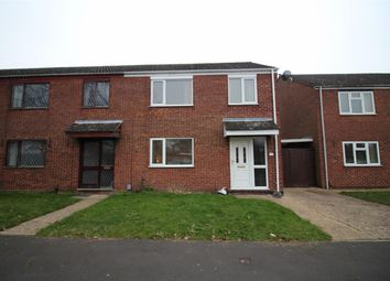 Thumbnail 3 bedroom end terrace house for sale in Cottinghams Drive, Norwich