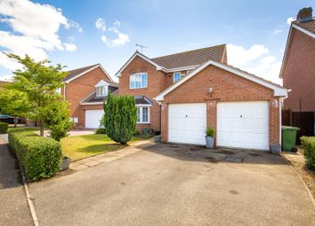 Thumbnail 4 bed detached house to rent in Farriers Way, Warboys, Huntingdon