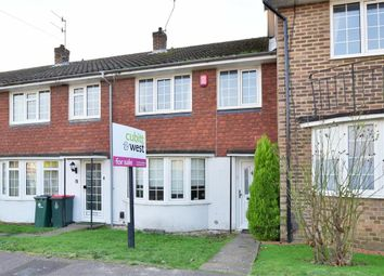 Thumbnail 3 bed terraced house for sale in Lyndhurst Close, Southgate, Crawley, West Sussex