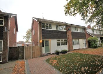 Thumbnail 3 bed semi-detached house for sale in Fairwater Drive, Woodley, Reading, Berkshire