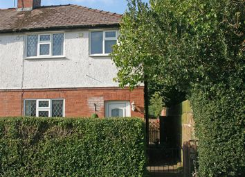 Thumbnail 3 bed end terrace house for sale in Barnard Street, Wem, Shropshire