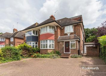 Thumbnail 6 bedroom semi-detached house for sale in Manor Hall Avenue, London