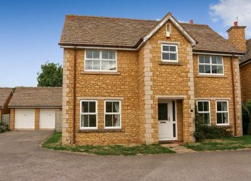Thumbnail 4 bed detached house for sale in Pridmore Close, Woodnewton