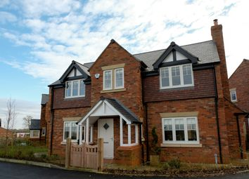 Thumbnail 4 bed detached house for sale in Daresbury Lane, Hatton, Cheshire