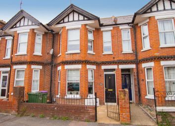 Thumbnail 4 bed terraced house for sale in St. Hilda Road, Folkestone