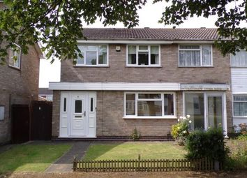 Thumbnail 3 bed semi-detached house for sale in Benskin Walk, Beaumont Leys, Leicester, Leicestershire