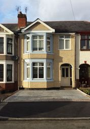 Thumbnail 4 bedroom terraced house to rent in Courtland Avenue Coundon, Coventry