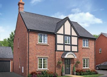 "Thumbnail 4 bed detached house for sale in ""The Osbourne"" at Ettington Road, Wellesbourne, Warwick"
