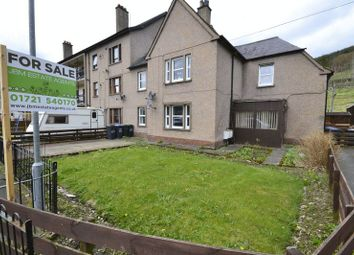 Thumbnail 3 bed flat for sale in 131 Tweedholm Avenue East, Walkerburn
