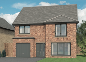 "Thumbnail 4 bed detached house for sale in ""The Ivory At Cragside Gardens"", Lordenshaw Drive, Rothbury, Morpeth"