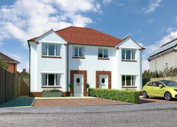 Thumbnail 3 bed semi-detached house for sale in Hamilton Road, Hamworthy, Poole, Dorset