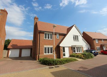 Thumbnail 5 bed detached house to rent in Leonard Gould Way, Maidstone, Kent