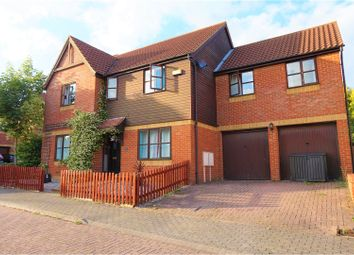 Thumbnail 4 bed detached house for sale in Ancona Gardens, Shenley Brook End