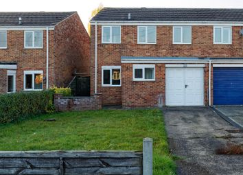 Thumbnail 3 bed semi-detached house for sale in Louth Road, Holton-Le-Clay, Grimsby