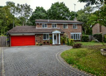 Thumbnail 4 bed detached house for sale in Belvedere Close, Fleet