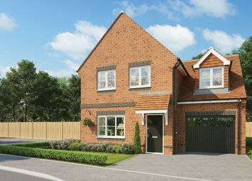 Thumbnail 4 bed detached house for sale in Oak Tree Close, Rowlands Castle