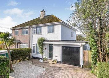 Thumbnail 3 bed semi-detached house for sale in Longrock, Penzance, Cornwall
