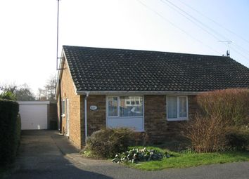 Thumbnail 2 bed bungalow to rent in Stockwell Avenue, Wootton, Northampton