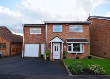 Thumbnail 4 bed detached house for sale in Heatherleigh Grove, Birches Head, Stoke-On-Trent