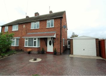 Thumbnail 3 bed semi-detached house for sale in Uppingham Crescent, West Bridgford