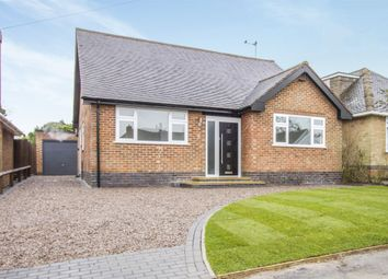 Thumbnail 2 bed detached bungalow for sale in The Meadway, Burbage, Hinckley