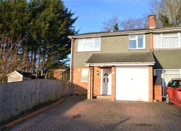 Thumbnail 3 bedroom end terrace house for sale in Pierces Hill, Tilehurst, Reading, Berkshire