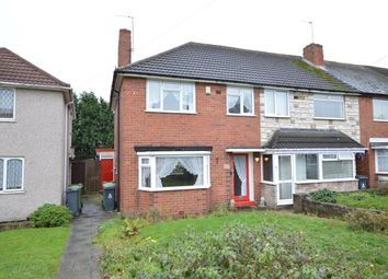 Thumbnail 3 bedroom end terrace house for sale in Chantrey Crescent, Pheasey, Great Barr