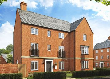 "Thumbnail 4 bed link-detached house for sale in ""Luxford"" at Broughton Crossing, Broughton, Aylesbury"