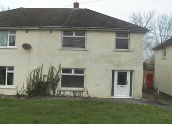 Thumbnail 3 bed terraced house to rent in Coombs Drive, Milford Haven