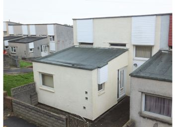 Thumbnail 2 bedroom end terrace house for sale in Laleston Close, Barry