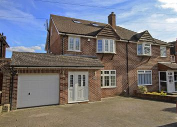 Thumbnail 4 bed semi-detached house for sale in Charlbury Road, Ickenham