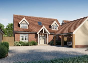 Thumbnail 4 bed detached house for sale in Elmsett, Ipswich, Suffolk