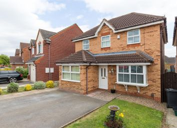 Thumbnail 4 bed detached house for sale in Siskin Crescent, Bottesford, Scunthorpe