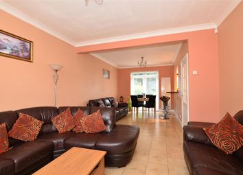 Thumbnail 4 bed semi-detached house for sale in Kitchener Avenue, Gravesend, Kent
