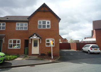 Thumbnail 2 bed end terrace house to rent in Waterbrook Way, Birdgtown, Cannock, Staffs
