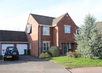 Thumbnail 4 bed detached house for sale in Alder Close, Ross-On-Wye, Herefordshire