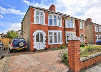 Thumbnail 3 bed semi-detached house for sale in St Aidan Crescent, Heath, Cardiff