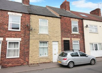 2 bed terraced house for sale in Barlborough Road, Chesterfield, Derbyshire S43