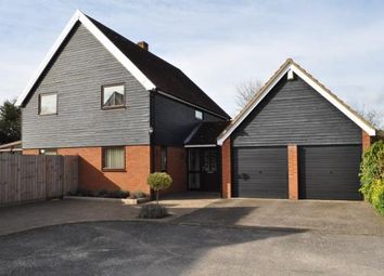 Thumbnail 4 bedroom detached house for sale in Manor Road, Martlesham Heath