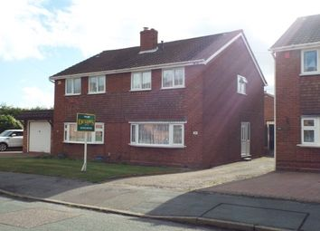 Thumbnail 3 bed semi-detached house to rent in Hunter Avenue, Chase Terrace, Burntwood