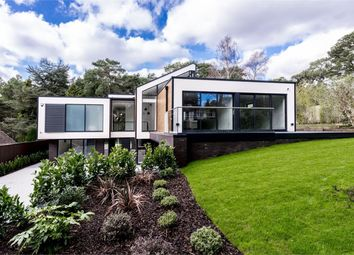 Thumbnail 4 bed detached house for sale in Bury Road, Branksome Park, Poole