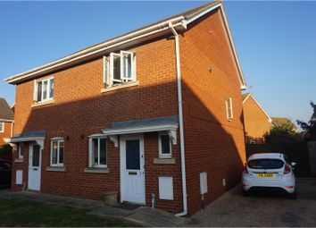 Thumbnail 2 bed semi-detached house for sale in Lavender Mews, Canvey Island