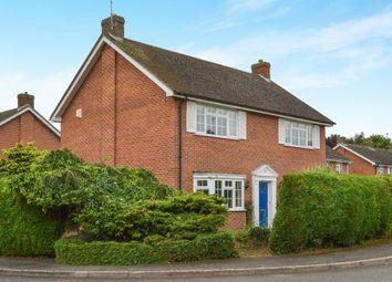 Thumbnail 4 bed detached house for sale in Shepperton Close, Castlethorpe, Milton Keynes