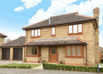 Thumbnail 4 bed detached house for sale in Pembroke Close, Marston Moretaine, Bedford