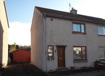 Thumbnail 2 bed semi-detached house for sale in Pringle Road, Elgin
