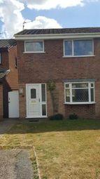 Thumbnail 2 bed semi-detached house to rent in Sandown Drive, Perton, Wolverhampton, West Midlands